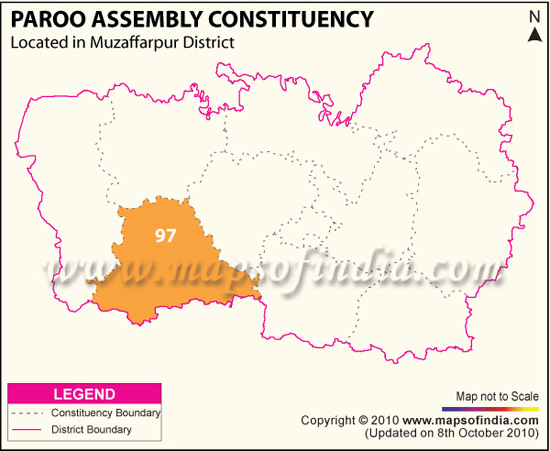 Assembly Constituency Map of Patna Sahib