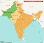 Which States Share Boundaries with Pakistan?