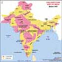 Pre-Partition Map of India