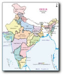 India Map in Tamil