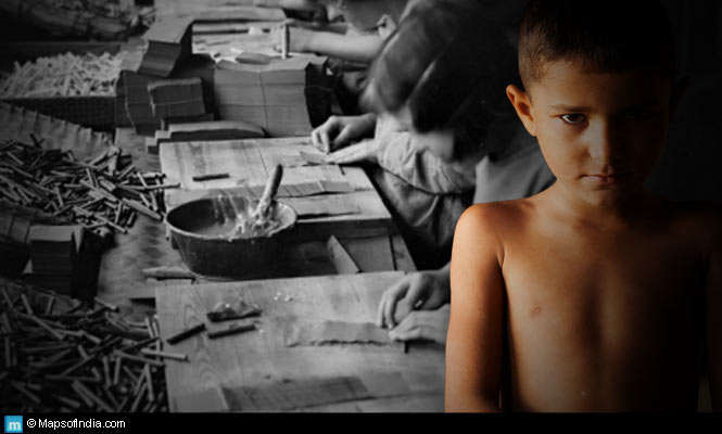 Child labour in fireworks industry