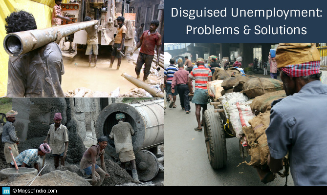 Disguised Unemployment in India