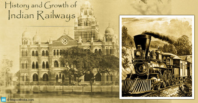 History and growth of Indian Railways
