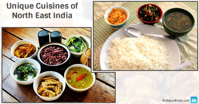 Cuisines of North East India