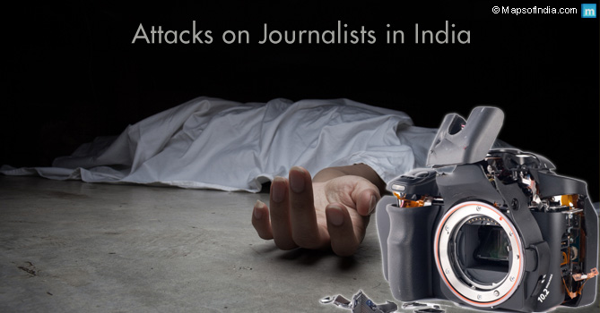 Attacks on journalists in India
