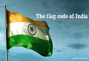 The flag code of India