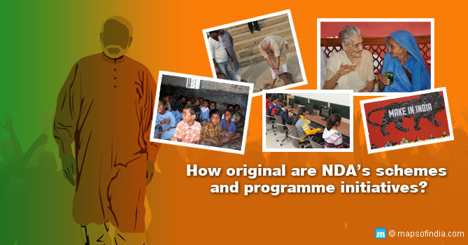 How original are NDA's schemes and programme initiatives