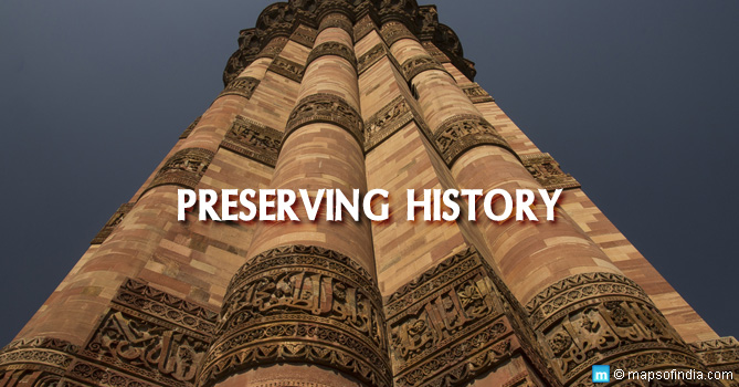 Restoration of Monuments in India