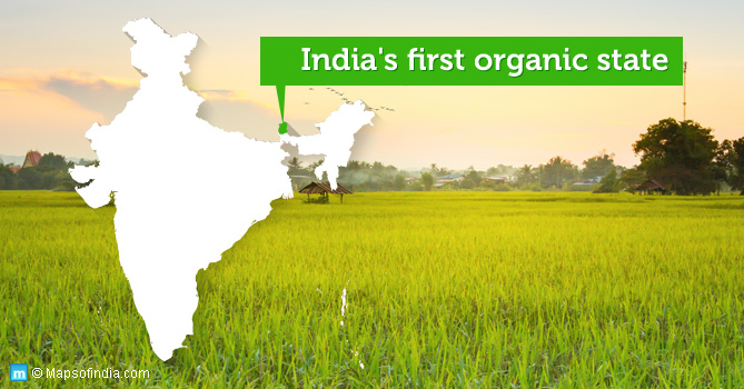 India's first organic state