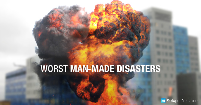 Man Made Disasters In India