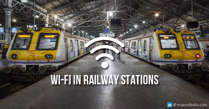 Free Wi-Fi Railway Stations in India