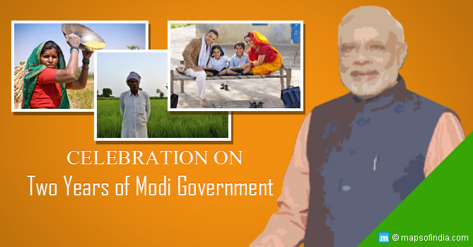 Celebration on Two Years of Modi Government