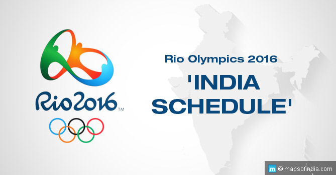 Rio Olympics 2016 India Schedule Time Table