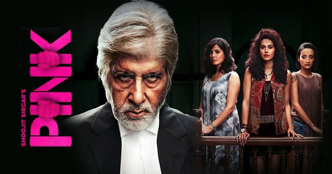 Pink Movie Review and Rating