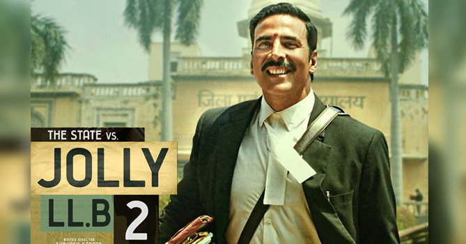 Jolly LLB 2 - Movie Review