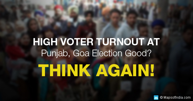 High Voter Turnout in Punjab, Goa Elections