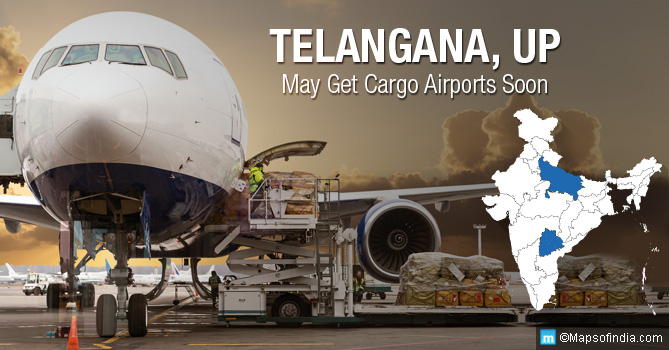 Cargo Airports in Telangana and UP