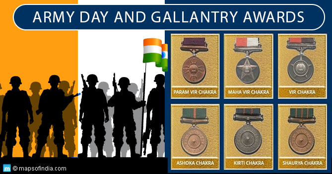Army Day Special: An Introduction on Gallantry Awards