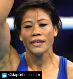 >M C Mary Kom Indian Boxer