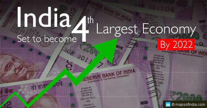 India to set to become 4th largest economy by 2022