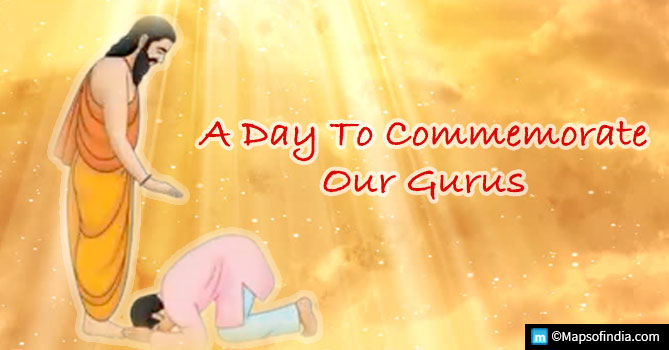 Guru Purnima - A Day to Commemorate our Gurus