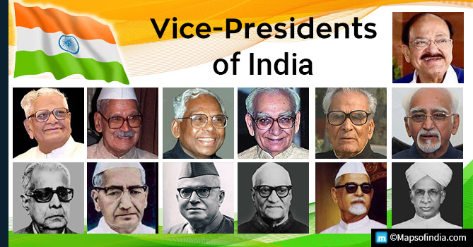 List Of Vice-Presidents Of India Till Now