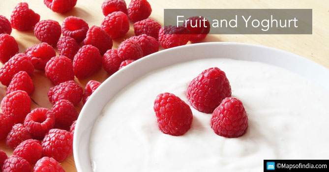 Fruit and Yoghurt