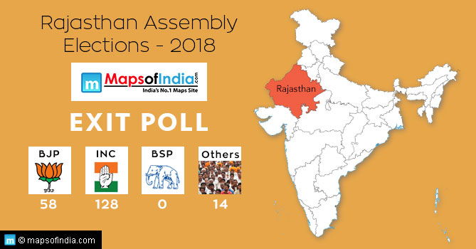 Exit Poll for Rajasthan Assembly Elections-2018