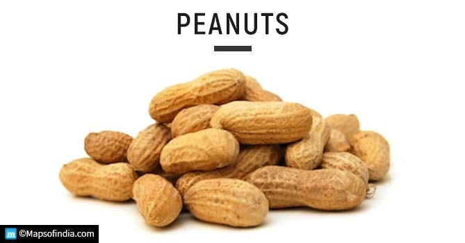 Peanuts - Foods That Can Damage Your Kidney