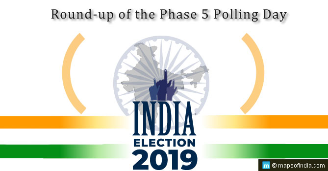 Phase 5 saw polling in 51 constituencies across 7 states