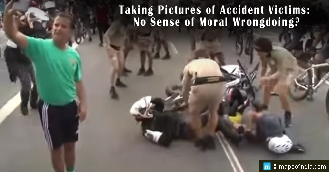 Taking Pictures of Accident Victims: No Sense of Moral Wrongdoing?