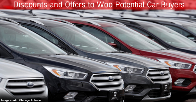 Discounts and Offers to Woo Potential Car Buyers