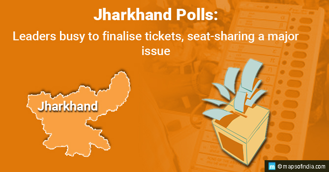 Jharkhand Polls: Leaders Busy to Finalise Tickets, Seat-Sharing a Major Issue