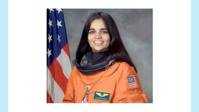 First woman of Indian origin to go to space