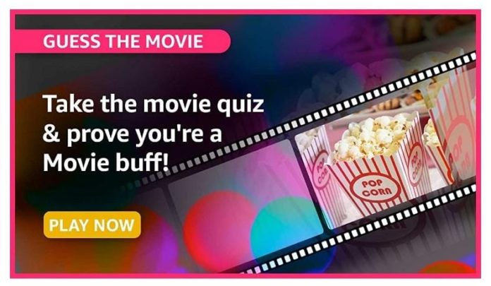 Guess the movie Amazon Quiz