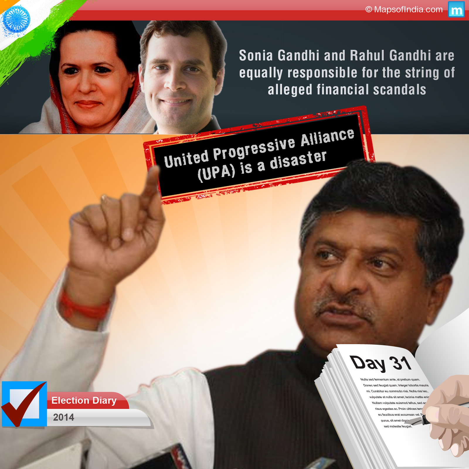 Strong allegations from various political parties against each other
