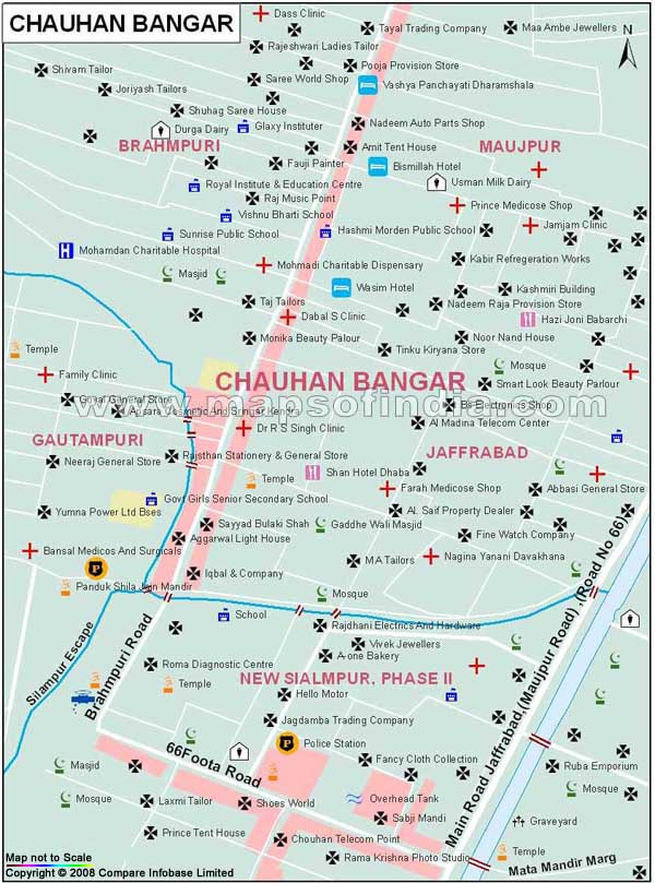 Chauhan Bangar Map