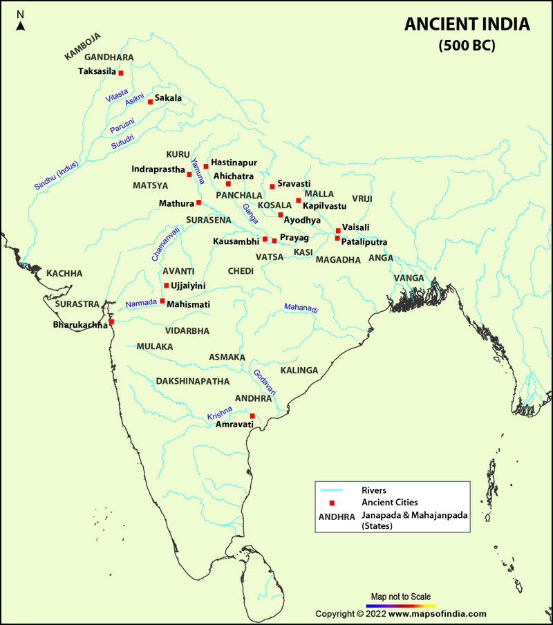 Ancient India Ancient India Map Map Of Ancient India