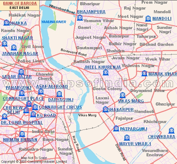indian bank branches in north east delhi