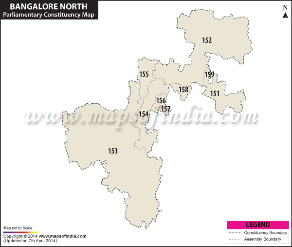Bangalore North Parliamentary Constituencies