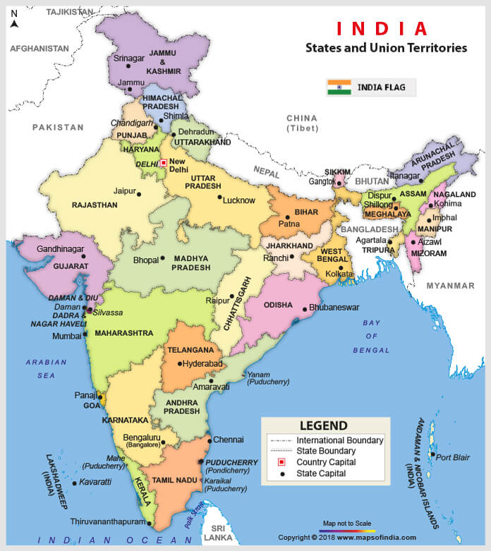 India 17th General Elections 2019 And Parliamentary Constituencies